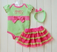 Baby Girls romper kids short sleeve christmas jumpsuit girls Romper 742246331 zmj