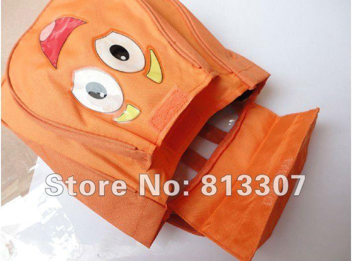 Atacado 5pcs Pré Backpack Shool Bag Laranja Criança Nylon Dora the Retail Explorador(China (Mainland))