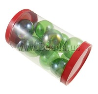 Free shipping!!!Blown Lampwork Beads,hot sale, Round, blow, green, 38x33mm, 80x137mm, 12PCs/Box, Sold By Box