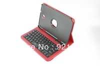 NNewest 360 Roating ABS Bluetooth Keyboard with soft PU leather case for Samsung Galaxy Note 8.0  N5100 N5110, free shipping