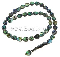Free shipping!!!Abalone Shell Beads,Sexy jewelry, Teardrop, 9x7x3mm, Hole:Approx 1mm, Length:16 Inch, 5Strands/Lot, Sold By Lot