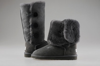 2013 int'l Brand 100% Australia Sheepskin Wool lining Mid calf  winter  Snow Boot for women,5 colors free shipping drop ship