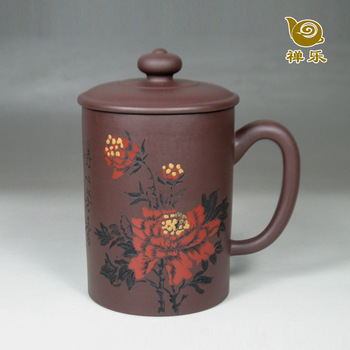 Free Shipping Yixing cup gift handmade cup 400cc ceramic kung fu tea set coffee sets