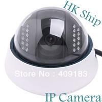 Wholesale Best Quality 1pcs/lot  IP Camera Wired Serveillance IR NightVision nightvision Dome CCTV Camera Free HongKong Post  I8