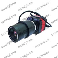 Mini 6-15mm Auto IRIS Super HAD camera Sony 600TVL D-WDR BulletOSD CCTV Box Camera Free shipping