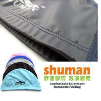 Swimming cap PU coating waterproof swimming cap elastic soft comfortable male female