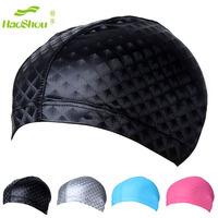 Trumpeters 2013 fashion swimming cap PU swimming cap sunscreen PU coating cap