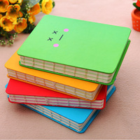 Free Shipping  South Korea stationery cute expressions notebook free shipping