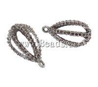Free shipping!!!Zinc Alloy Pendant Setting,2013 womens european fashion, Teardrop, antique silver color plated, nickel