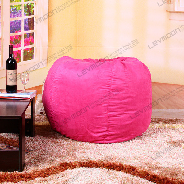 FREE SHIPPING cheap bean bag chairs no filling tear drop bean bag kids pink SUEDE INDOOR huge bean bag bean bag covers pattern(China (Mainland))