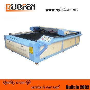 Ruofen 1325 3d CO2 plexiglass CNC laser cutting machine 1325