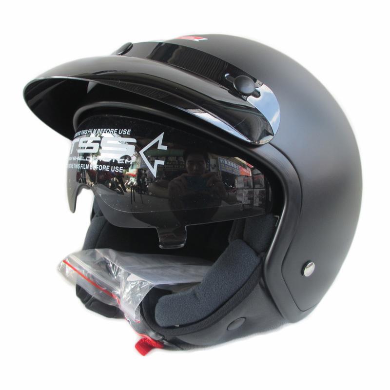 Motorcycle Half Helmets Face Retro 3 4 Half Helmet