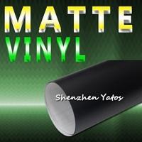 Black Matte 3M Car Vinyl Sticker Film Air Free 1.52*30M/Roll