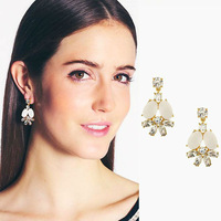 Min order $10 New arrival colorful shell fashion earrings Factory Wholesale