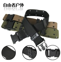 Free Shipping Outdoor tactical belt socket outside belt camouflage belt male training uniform belt