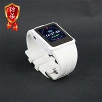 Freeshipping Digital MP4 Music Player Watch +2 GB Memory Card 1.5 Inch Color Screen With E-book,Photo Frame,FM Radio Player