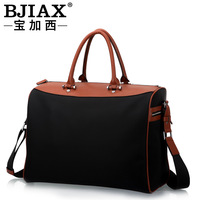 Commercial portable travel bag waterproof nylon bag male luggage bags one shoulder canvas bag