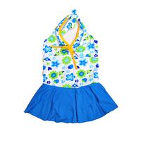 Princess female child dress one-piece swimwear child swimwear