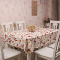 Quality thickening disposable waterproof oil dining table cloth tablecloth table cloth rustic cloth pvc