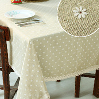 Daisy fluid computer round table cloth rustic dining table cloth lace tablecloth fashion table cloth towel cover