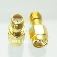 10pcs SMA male plug to SMA female jack in seriesl RF adapter connector