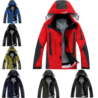 outdoor men Jackets , 2013 NEW breathable waterproof windproof, 2-pieces Rainproof softsmell, men wear sport Jacket, BRAND