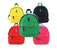 2013 Polo cartoon child school bag kindergarten small school bag male female child baby backpack  cute backpacks for kids