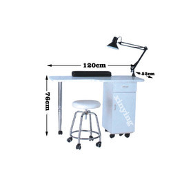 Movable nail manicure table MH-XJ5 with dust collector