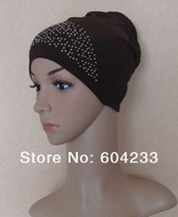 2013 wholesale free shipping tt122 new arrival islamic scarf hijab hat muslim prayer cap