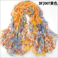 Scarf female ultra long large facecloth female faux silk scarf dual cape