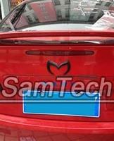 2pcs Drop shipping 3D Bat Batman Rear Car Emblem Badge Sticker metal For Mazda 2 3 5 6 CX-7 CX-9 MX-5 Miata RX-8 Tribute Black
