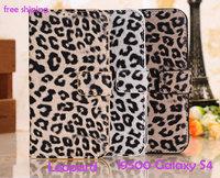 For samsung   i9500 mobile phone case s4 i9500 mobile phone case protective case phone sets leopard print