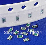 SMD Fuse 1206 Fuse force chiefly fast-blow fuse 1A 2A 3A 4A 5A total of 10 50PCS