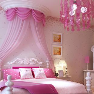 Non woven behang rustieke kind echt meisje behang roze paars kinderen slaapkamer - Deco slaapkamer meisje roze ...