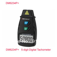 DM6234P+ 5-digit Digital Tachometer Large LCD,Rotate speed tester,Free Shipping