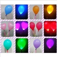 20pcs/lot  Light up Balloon Led Light Balloons Wedding Party Decoration Kids ToyPQ016 Free Shipping