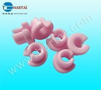 Slooted ceramic eyelet (Alumina textile ceramic eyelets)