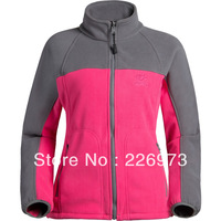 2013 Women double layer compound fleece clothing ultrafine antistatic ball outdoor high quality fabric