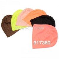 Wholesale 10pcs Mix Color Plain Women Men Beanie Slouch Beanies Hat Mens Spring Skullcap Womens Baggy Oversized Caps Autumn Hats
