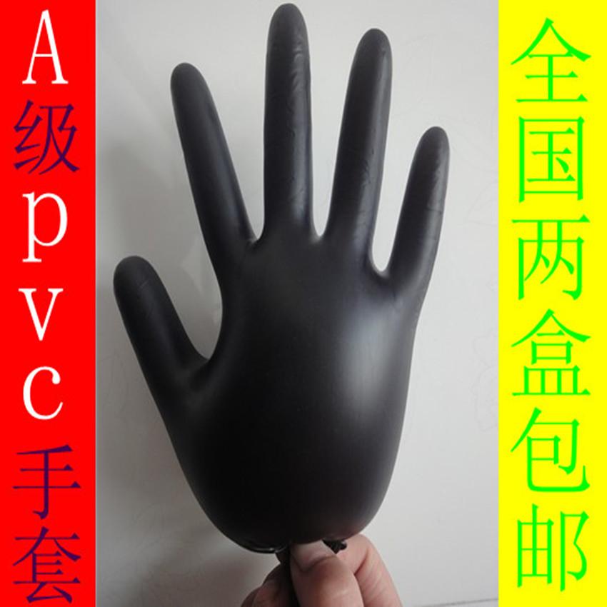 А одноразовые перчатки haircolouring черный резиновые перчатки латексные перчатки 100