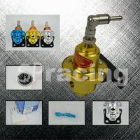 Free Shipping-Gold Sard fuel pressure regulator with SARD gauge & original pack and logo