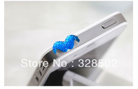 500pcs new items kawaii beard headphones Cap Earphone dust plug for iphone cell phone accessories wholesale freeshipping