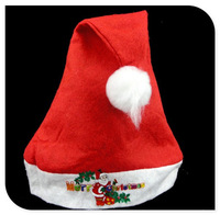 Hot One-Red Christmas Hats for Children ,Santa's Hat,Christmas Decoration,Christmas Gift,10pcs/lot Free Shipping LPT1129-1
