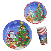 Free shipping Christmas Party Paper Cup
