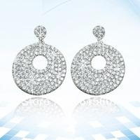 HMTE118 fashion accessories drop Earrings 925 silver jewelry