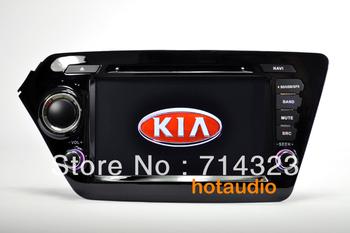 Car DVD PC tape recorder for Kia K2 Rio GPS Nav 1G CPU 3G Host S100 Support DVR 8inch HD screen audio video player Free shipping