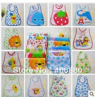 Best selling! waterproof  Disposable soft Plastic baby bibs saliva towel 5pcs /lot Free shipping