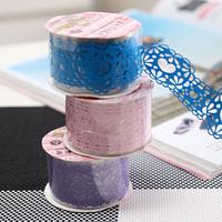 Wholesale Large lace Adhesive tape elegant waterproof tape decoration belt stationery