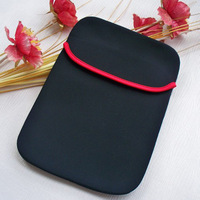 "Freeshipping--sleeve case bag for 7inch tablet pc 7"" MID Notebook Soft Protect Cloth Bag Pouch Cover Case"