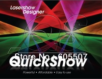 Pangolin Quickshow laser software /ilda laser software/USB software for stage laser/ for disco laser